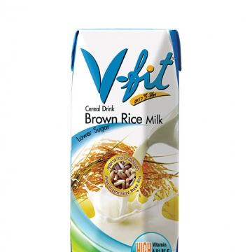 Рисовое молоко без сахара (из коричневого риса) V-fit 250 мл