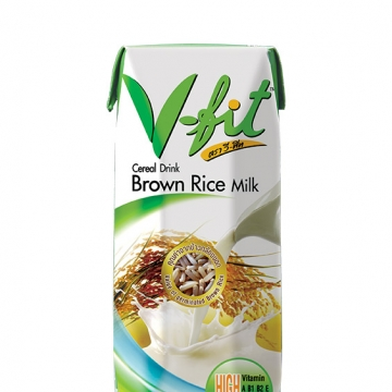 Рисовое молоко (из коричневого риса) V-fit 250 мл