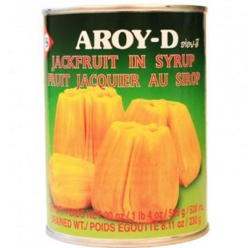 Джекфрут в сиропе Aroy-D, Таиланд 565 г