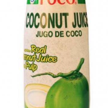 Кокосовый сок с мякотью FOCO, Таиланд 400 мл