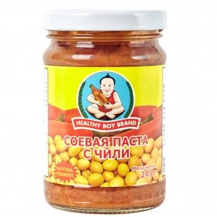 """Соевая паста с чили """"Healthy Boy Brand"""", 245 г"""