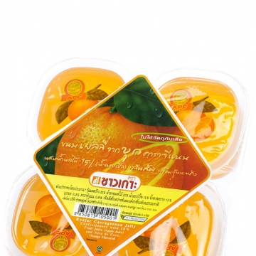 "Конжаковое желе ""Апельсин"" Тайланд 4 шт. по 115 г"