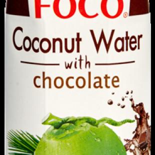 Кокосовая вода с шоколадом Foco, Вьетнам, 330 мл