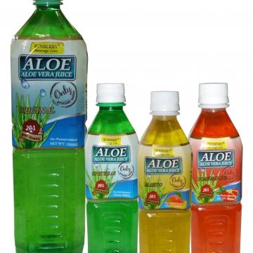 Напиток Алоэ-вера, Sunberry 1 кор. в ассортименте (20 шт. Х 500 мл)