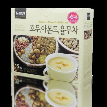 Напиток с грецким орехом, миндалем, коиксом (пищезаменитель) Nokchawon, Корея 270г (15 саше *18 г)