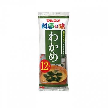 Суп-мисо быстрого приготовления с аларией и тунцом,вакуумные порционные пакеты,12 порций