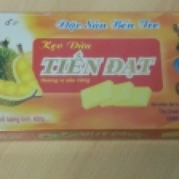 Конфеты Tien Dat - ириски с дурианом и кокосовым молоком - 400 гр. Очень вкусные! Пр-во Вьетнам.