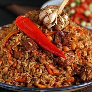 Рис розовый (Девзира) Узбекистан 900 г