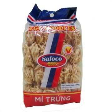 Лапша яичная премиум класса (гнезда) 3 мм Safoco, Вьетнам 500 г