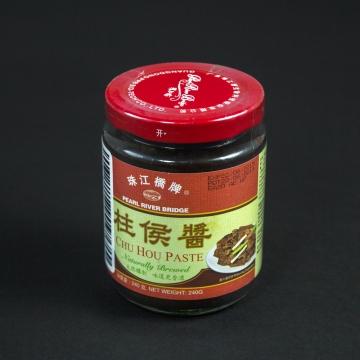 Паста Chu Hou Pearl River Bridge, из черных бобов, 240г