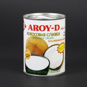 Кокосовые сливки Aroy-D (560 мл)