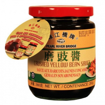 "Соус Pearl River Bridge ""Crushed Yellow Bean Sauce"" из желтых бобов (260 г)"