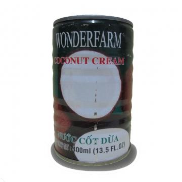 Кокосовое молоко WONDERFARM (400 мл)