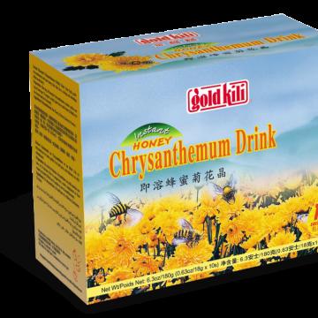 """Быстрорастворимый напиток """"Хризантема с мёдом"""" Gold Kili 180г (10 саше по 18 г)"""