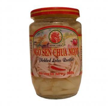 Маринованные ростки лотоса Вьетнам 370 г