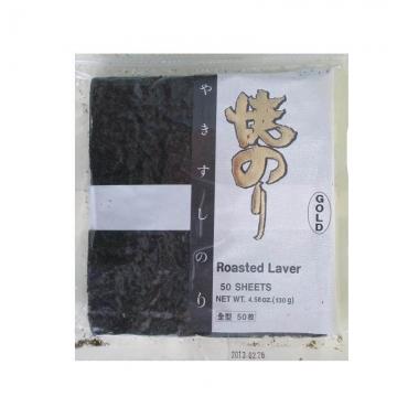 Морская капуста для суши (нори) GOLD 50 листов Корея