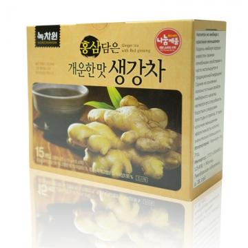 Имбирный напиток с красным женьшенем Nokchawon, Корея 225 г (15 г*15 шт)
