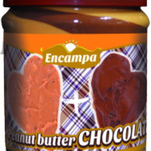 Шоколадно-арахисовая паста Chocolate Encampa, 340 г