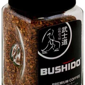 кофе Bushido Black Katana 100г. в кристаллах