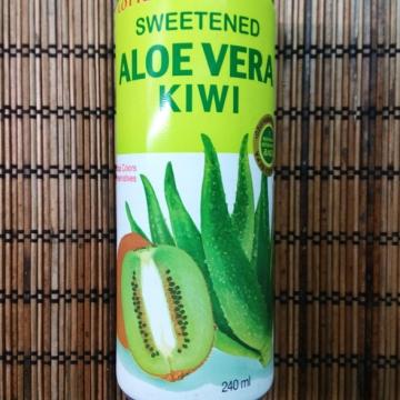 Напиток с Алоэ вера Киви, Lotte 240 мл
