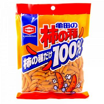 Рисовые крекеры Орешки KAKINOTANE, Япония 130 г
