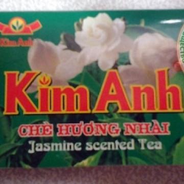 Вьетнамский зелёный чай с жасмином Kim Ahn 50 г (25 штх2 г)