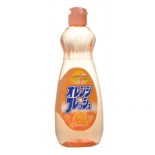 Жидкость для мытья посуды, фруктов и овощей Fresh — Свежесть Апельсина / ROCKET SOAP / 600 мл.