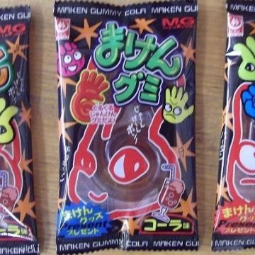 Жевательный мармелад со вкусом Колы Maken Gummi, Япония 15 гр