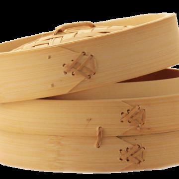 Бамбуковая пароварка 21 см