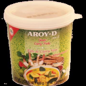 Зеленая паста карри Aroy-D 400 г