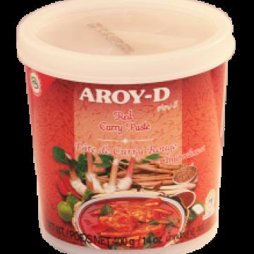 Красная паста карри AROY-D 400г