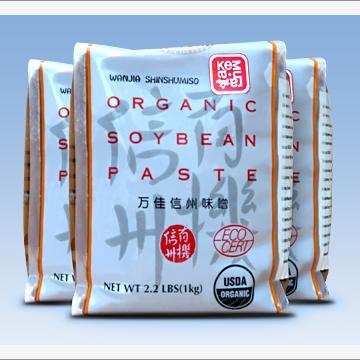 Мисо-паста соевая светлая органическая Широ мисо/Shiro Miso Китай 1 кг