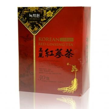 Чай женьшеневый Nokchawon, Корея 150 гр. (3 гр.*50 саше)