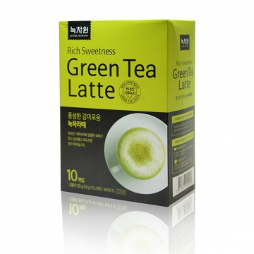 Зеленый чай-латте в пакетиках Nokchawon, Корея 130г (13 г*10 шт)