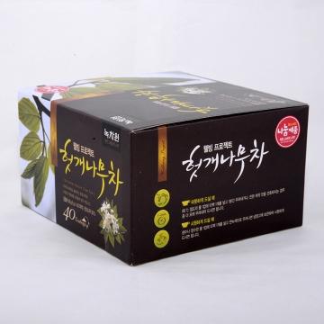 Восточный чай с листьями конфетного дерева Nokchawon, Корея 40 г (1 гр.*40 шт.)