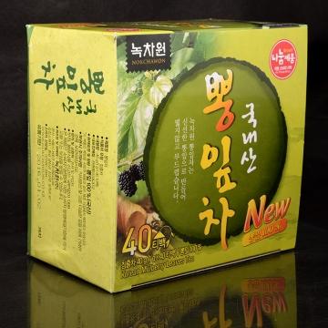 Тутовый чай из листьев шелковицы/ тута Nokchawon, Корея 40 г (40 пак.*1 гр.)