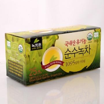 Корейский зеленый органический чай Nokchawon (в пакетиках),Корея 30 г(1,2г*25шт)