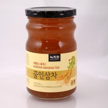 Медовый напиток с женьшенем (банка) Nokchawon, Корея 580 гр