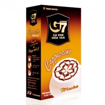 Вьетнамский кофе G7 Капучино Мокка 3 в 1 растворимый (12 шт. Х 18 г)