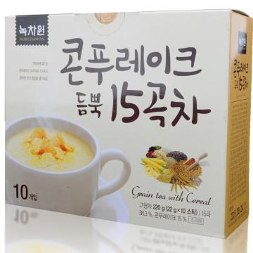 Зерновой напиток с кукурузными хлопьями Nokchawon, Корея 220 г (10шт*22 г)