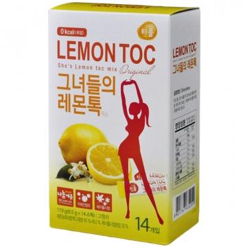 Лимонная детокс диета Lemon Toc Nokchawon, Корея 119 г (14 шт.*8,5 г)