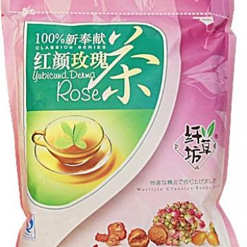 Чай БаБао с розой