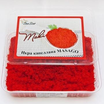 Икра капеллана Масаго красная (Masago) 500г
