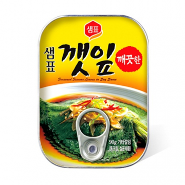 Листья периллы в соевом соусе Корея 90 г