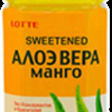Напиток Алоэ-вера-Манго, Lotte 1,5 л