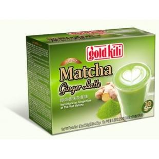 """Имбирный латте """"Матча"""" Молочно-нефритовый напиток 250 г (10 саше по 25 г)"""