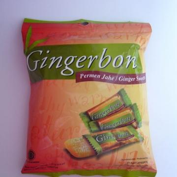 Имбирные конфеты с арахисовым маслом Gingerbon 125г