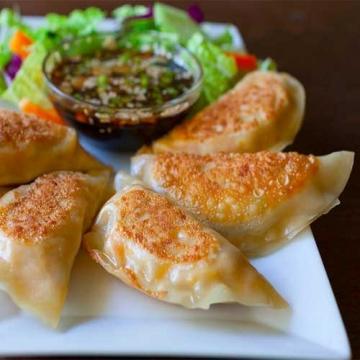 Корейские пельмени с кимчи замороженные Кимчи-манду (ручная работа) 450г
