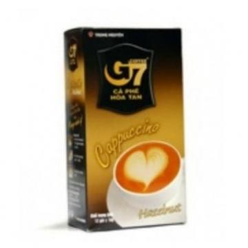 Вьетнамское кофе G7 Капучино Лесной орех 3 в 1 растворимый (12 шт. Х 18 г)