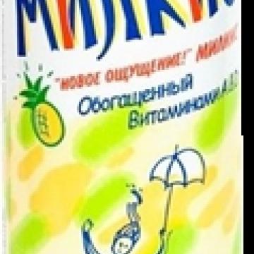 Напиток газированный Милкис Ананас, Lotte 250 мл